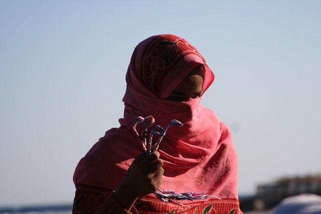 Zdjęcia: Dahab, Półwysep Synaj, Beduinka, EGIPT
