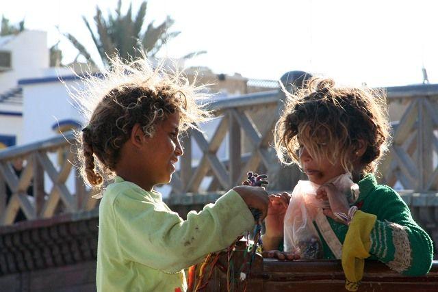 Zdj�cia: Dahab, P�wysep Synaj, Siostry, EGIPT
