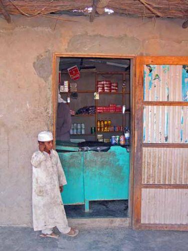 Zdjęcia: na pustyni, sklepik, EGIPT
