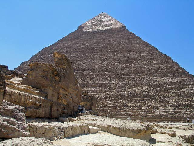 Zdjęcia: na pustyni, Piramida, EGIPT