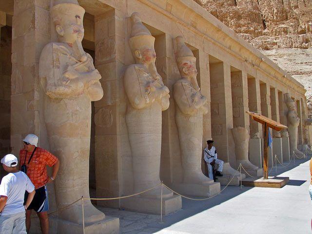 Zdjęcia: Okolice Luksoru, Świątynia Hatszepsut, EGIPT