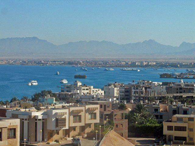 Zdjęcia: Hurgada, -pustynia, Panorama, EGIPT