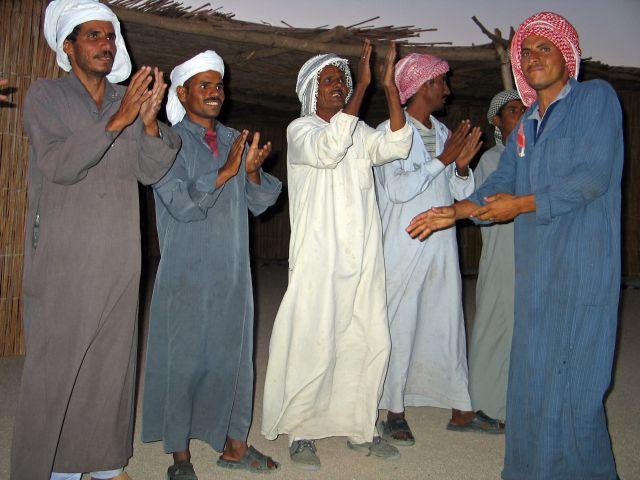Zdjęcia: Na pustyni koło Hurgady, Beduini, EGIPT