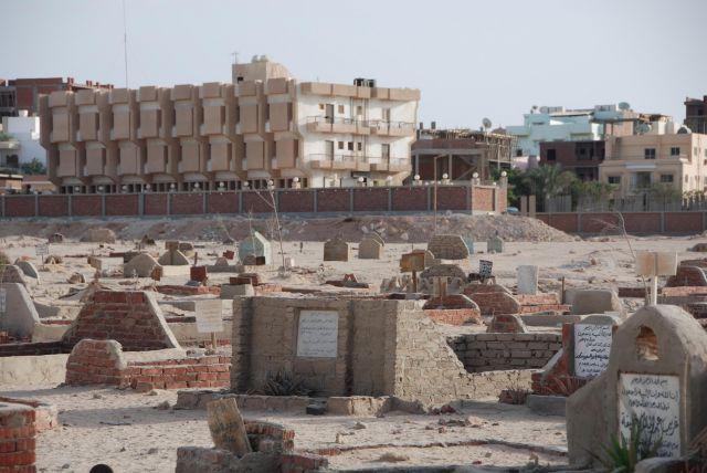 Zdj�cia: Hurghada, Egipt, Cmentarz w Hurghadzie, EGIPT