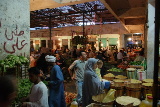 Zdjęcia: Hurghada, Egipt, Bazar w Hurghadzie, EGIPT