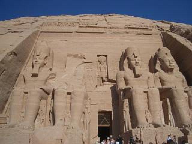 Zdjęcia: Abu Simbel, świątynia Ramzesa II, EGIPT