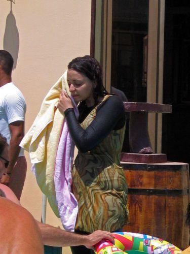 Zdjęcia: Hurgada, Egipcjanka na basenie, EGIPT