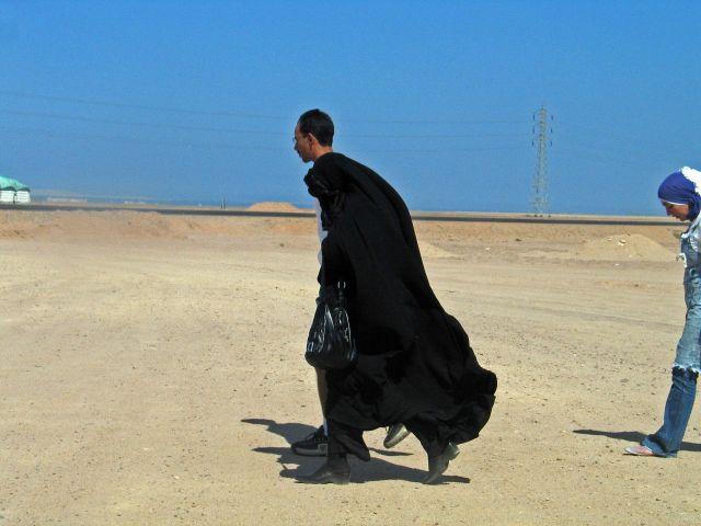Zdjęcia: Hurgada, Dwie postacie a może nie !, EGIPT