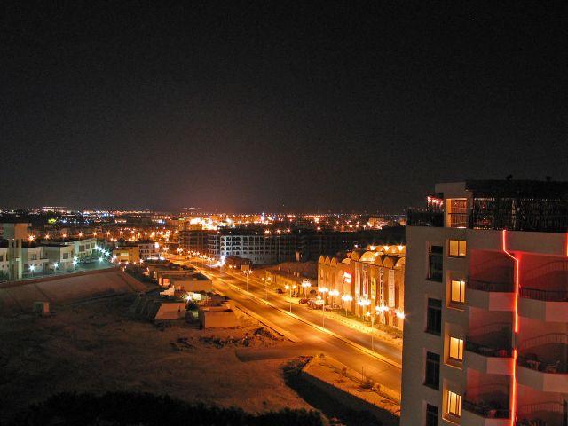 Zdjęcia: Hurgada-, Hurgada nocą, EGIPT