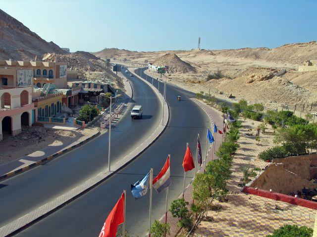 Zdjęcia: Hurgada, Droga do starej Hurgady, EGIPT