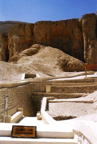 Zdjęcia: Dolina Królów, Egipt południowy, Grobowce, EGIPT