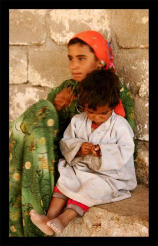 Zdj�cia: pustynia , dzieci pustyni, EGIPT