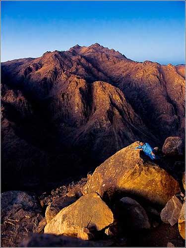 Zdjęcia: Góra Świętej Katarzyny, Półwysep Synaj, Góra Świętej Katarzyny, EGIPT