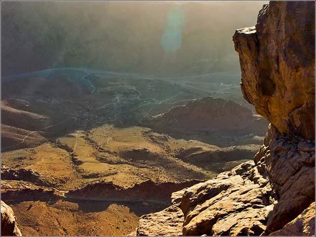 Zdj�cia: G�ra Synaj, P�wysep Synaj, Daleka perspektywa, EGIPT