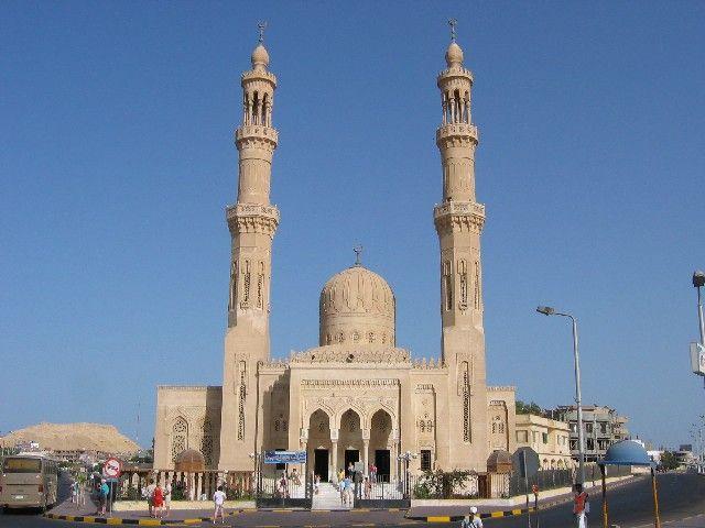 Zdjęcia: Hurghada, Meczet, EGIPT