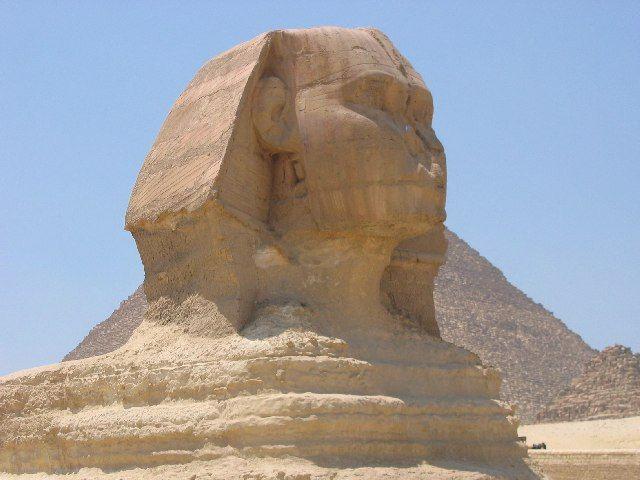 Zdjęcia: Giza, Sfinks, EGIPT