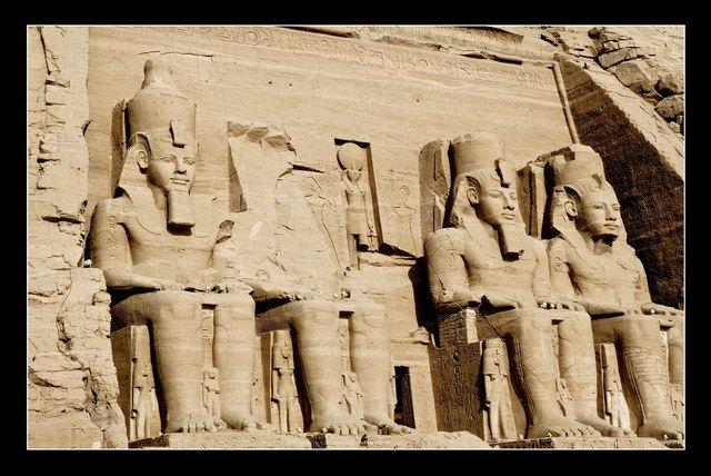 Zdjęcia: Abu Simbel, Abu Simbel I, EGIPT