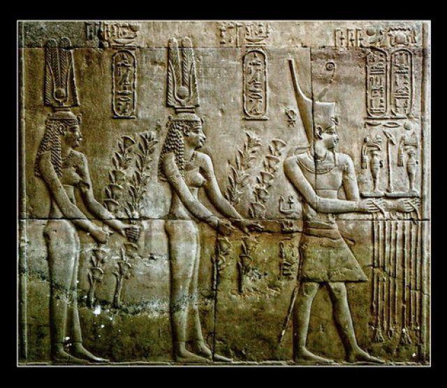 Zdjęcia: Kom-Ombo, One of The Kom-Ombo's reliefs, EGIPT