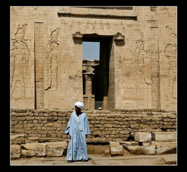 Zdjęcia: Edfu, Temple ov Horus in Edfu, EGIPT