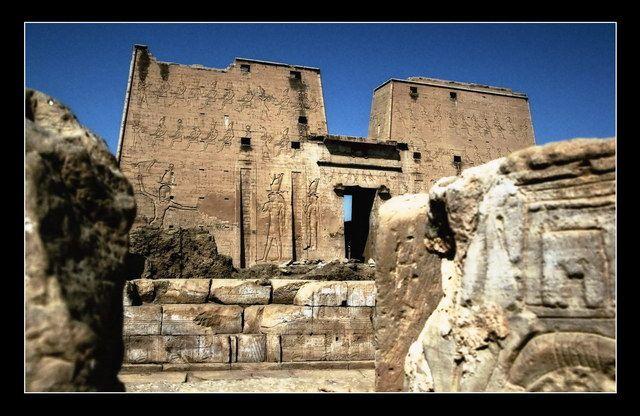 Zdjęcia: Edfu, Temple ov Horus II, EGIPT