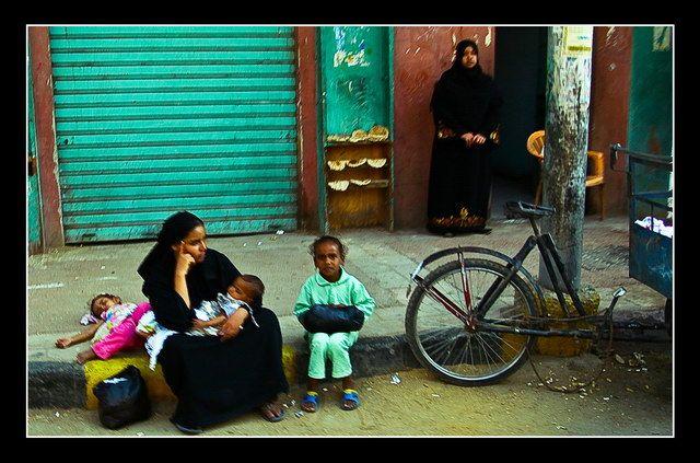 Zdjęcia: Edfu, The Family..., EGIPT