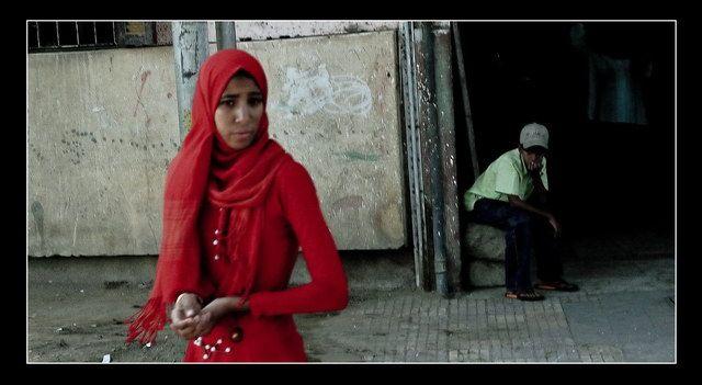 """Zdjęcia: Edfu, """"She's my Queen..."""", EGIPT"""