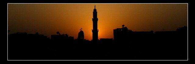 Zdjęcia: Nile, Sunset, EGIPT