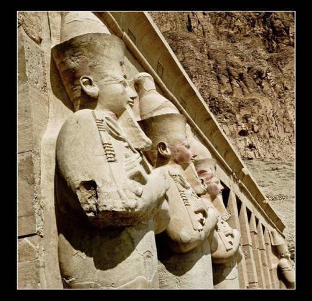 Zdjęcia: Deir El-Bahri, Queen Hatshepsut, EGIPT