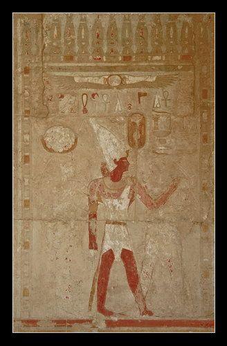 Zdjęcia: Deir El-Bahri, I, Hatshepsut, EGIPT