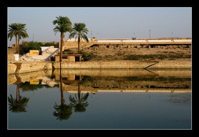 Zdj�cia: Ipet-isut, The Sacred Lake, EGIPT