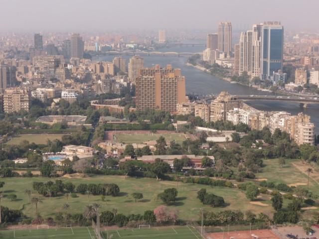 Zdjęcia: Zamalek, Kair, Kair panorama, EGIPT