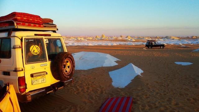 Zdjęcia: Al Bahrija, Kair, pustynia obozowisko1, EGIPT
