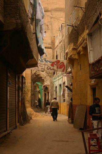 Zdj�cia: Jaki� zau�ek, Kair, Uliczka, EGIPT