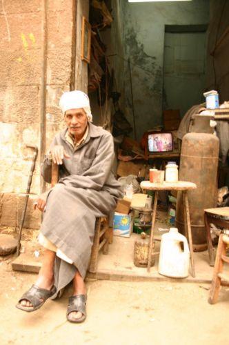 Zdjęcia: Jakiś zaułek, Kair, Portret, EGIPT