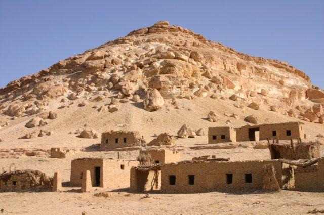 Zdjęcia: Gdzieś , oaza , oaza, EGIPT
