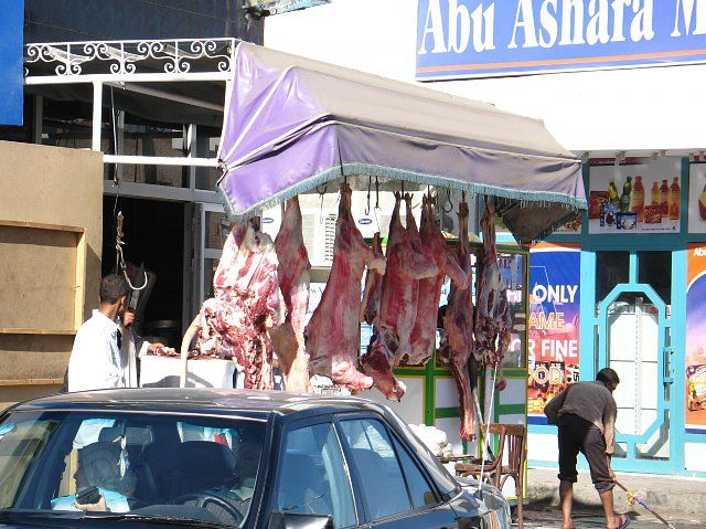 Zdjęcia: Obok marketu, Hurghada, sklep , EGIPT