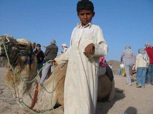Zdjęcia: pustynia, Gdzieś na pustyni, Dziecko , EGIPT