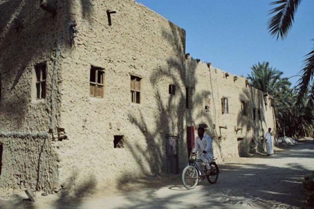 Zdj�cia: spokojna wioska na trasie, Gdzie� w drodze, Wioska, EGIPT