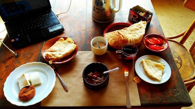 Zdjęcia: Kair, Afryka, śniadanie w Siwa, EGIPT