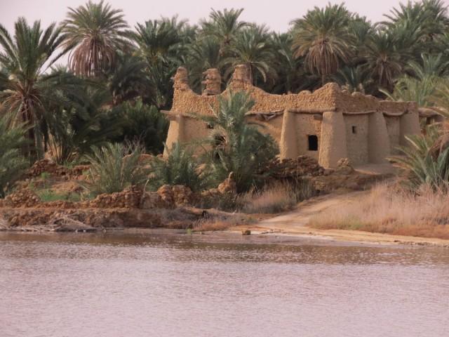 Zdjęcia: Kair, Afryka, siwa dom nad jez, EGIPT