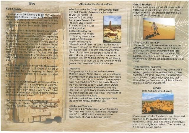 Zdjęcia: Siwa, Afryka, siwa mapa2, EGIPT