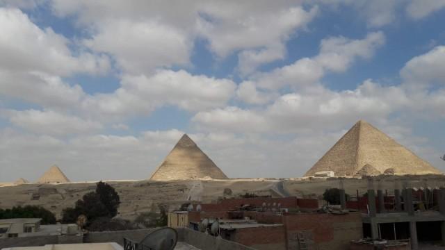 Zdjęcia: Kair,  Afryka, piramidy 1, EGIPT