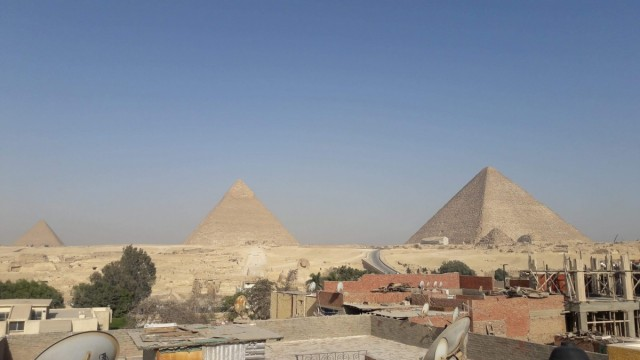 Zdjęcia: Kair,  Afryka, piramidy 2, EGIPT