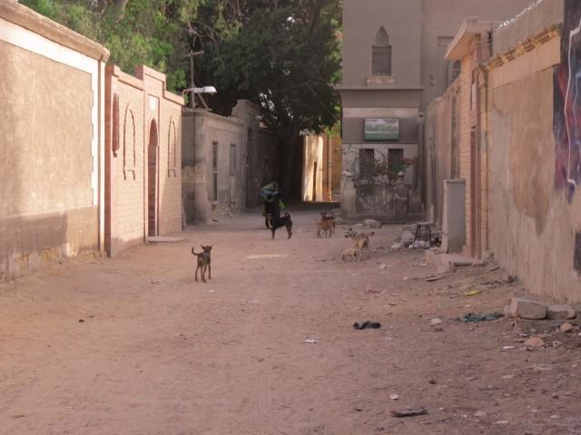 Zdjęcia: Kair, Afryka, m umarłych ulica, EGIPT