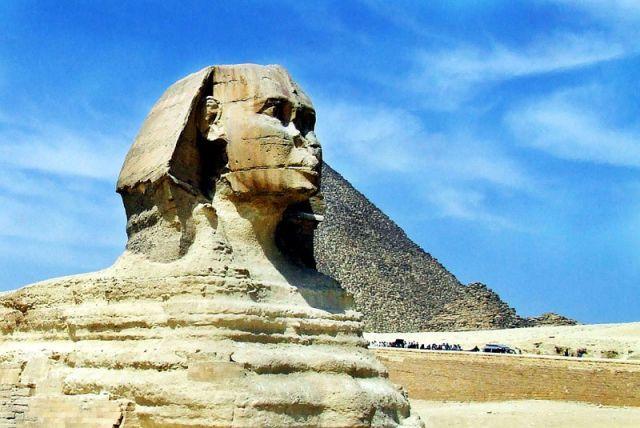 Zdj�cia: Giza, Sfinks, EGIPT