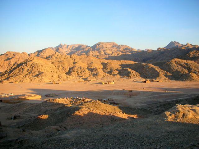 Zdjęcia: PUSTYNIA, zachod slonca, EGIPT