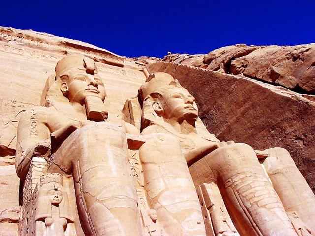 Zdjęcia: Abu Simbel, Ramzes, EGIPT