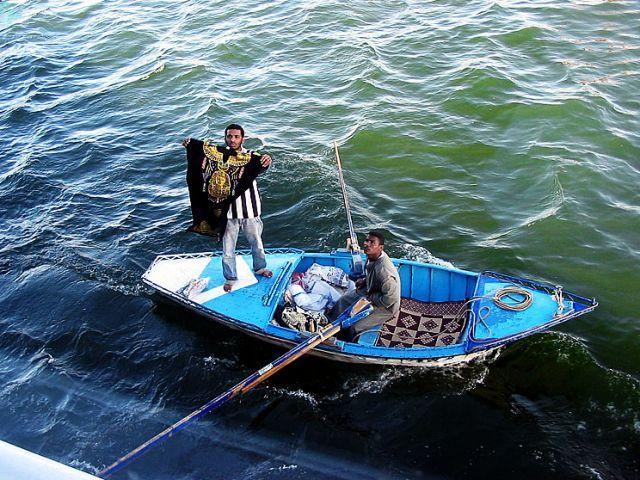 Zdjęcia: Asuan, handel na Nilu, EGIPT