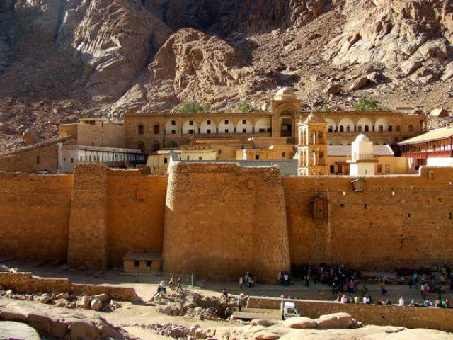 Zdjęcia: Klasztor Św. Katarzyny, Półwysep Synaj, Klasztor Św. Katarzyny, EGIPT