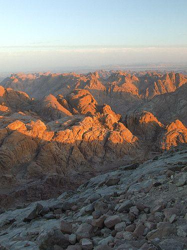 Zdjęcia: Góra Mojżesza, Półwysep Synaj, Góra Mojżesza, EGIPT